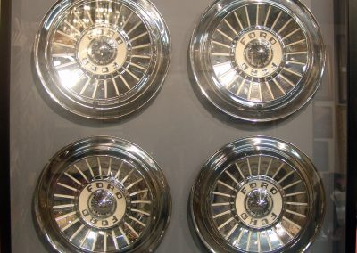 Hubcaps ShadowBox